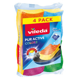Pur Active Colors 4er Topfreiniger